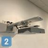 Короткофокусный проектор, установленный в учебном классе