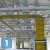 Создание СКС в здании с открытой планировкой и высоким потолком