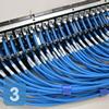 Маркировка кабелей, подключенных к панели СКС