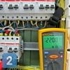 Работы по проверке сопротивления изоляции силовых кабелей