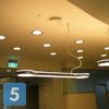 Устройство рабочего и аварийного освещения в холле