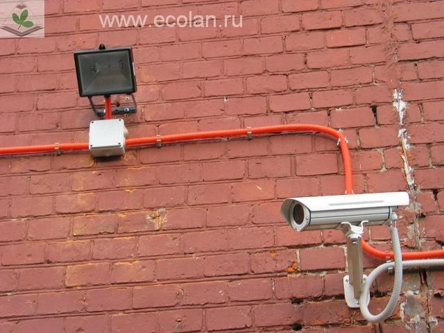 Установка камеры дома своими руками 58